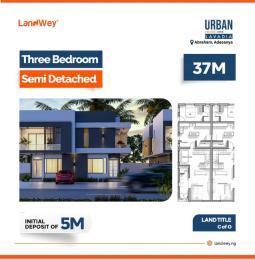 3 bedroom Semi Detached Duplex House for sale Abraham Adesanya  Abraham adesanya estate Ajah Lagos