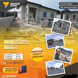 3 bedroom Detached Bungalow House for sale Bogije  Ajah Lagos