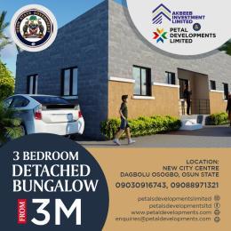 3 bedroom House for sale new city centre, Dagbolu Osogbo Osogbo Osun