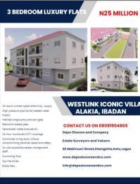 3 bedroom Flat / Apartment for sale Westlink Iconic Estate Alakia Ibadan Oyo