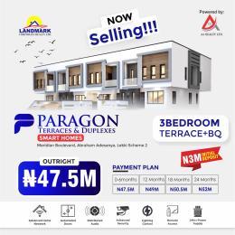 3 bedroom Terraced Duplex House for sale Paragon Terraces And Duplexes Smart Homes Inside Meridan Boulevard Estate Okun Ajah A Place Designed For Royalty Okun Ajah Ajah Lagos
