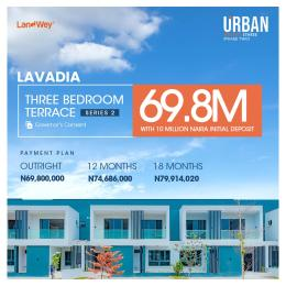 3 bedroom Terraced Duplex House for sale Urban Prime Three Estate. Ogombo Ajah Lagos