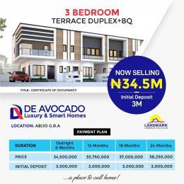 3 bedroom Terraced Duplex House for sale De-Avocado Smart Homes, Abijo GRA. Lekki Lagos