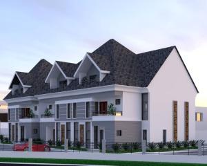 4 bedroom Terraced Duplex for sale In A Mini Estate Inside Games Village Kaura (Games Village) Abuja