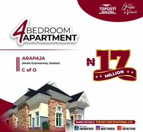 Flat / Apartment for sale Arapaja, akala expressway Akala Express Ibadan Oyo