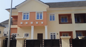 4 bedroom Semi Detached Duplex House for rent Kings park estate Kaura (Games Village) Abuja