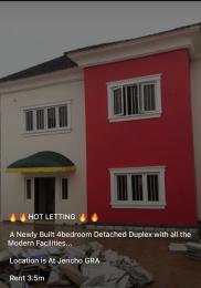 4 bedroom Terraced Duplex for rent Jericho Gra Jericho Ibadan Oyo