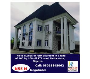 4 bedroom Detached Duplex House for sale Pti Road, Warri Delta State. Warri Delta