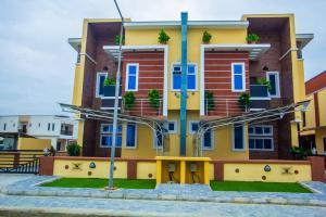 4 bedroom Semi Detached Duplex House for sale Buena Vista Estate By Chevron Toll Gate By Orchid Hotel Road, Lekki Lagos. Oral Estate Lekki Lagos