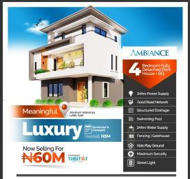 4 bedroom Detached Duplex House for sale Ajiwe  Abraham adesanya estate Ajah Lagos