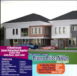 4 bedroom Semi Detached Duplex for sale Addo Road Lekki Phase 2 Lekki Lagos