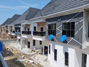 Semi Detached Duplex House for sale H HOMES OFF CHEVRON TOLL GATE  chevron Lekki Lagos
