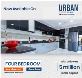 4 bedroom Semi Detached Duplex House for sale Off Lekki-Epe Expressway Ajah Lagos