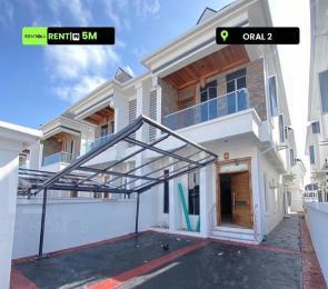 4 bedroom Semi Detached Duplex for rent Oral 2 Oral Estate Lekki Lagos
