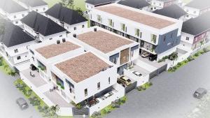 5 bedroom Semi Detached Duplex House for sale Orchid road lafiaji chevron Lekki Lagos