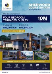 4 bedroom Terraced Duplex for sale Sherhood Court Estate Sangotedo Ajah Lagos