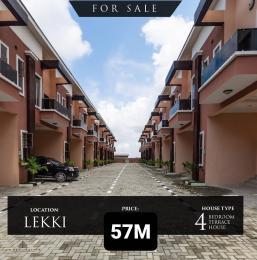4 bedroom Terraced Duplex for sale Chevron Drive chevron Lekki Lagos