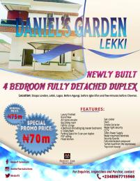 Detached Duplex House for sale Osapa London Before Agungi Few Minutes Drive From Chevron Osapa london Lekki Lagos