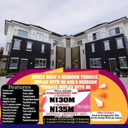 4 bedroom Terraced Duplex House for sale Fola-House, Victoria Island Extension, Oniru Victoria Island Extension Victoria Island Lagos
