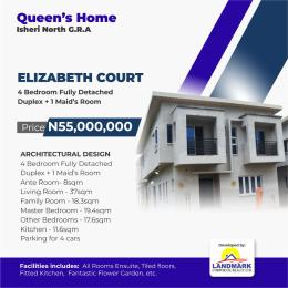 4 bedroom Detached Duplex House for sale Isheri North Gra  Isheri North Ojodu Lagos