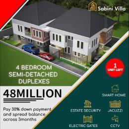 4 bedroom Semi Detached Duplex House for sale Sabini Villa. Ado Ajah Lagos