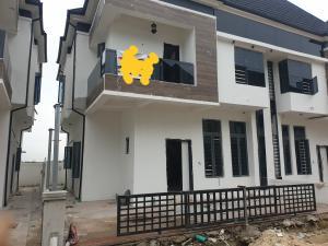 4 bedroom Semi Detached Duplex House for rent Sun land estate  chevron Lekki Lagos