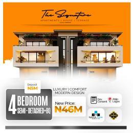 4 bedroom Semi Detached Duplex for sale Signature Homes Abijo Ajah Lagos