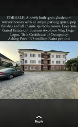 4 bedroom Terraced Duplex House for sale Awolowo way Ikeja Lagos