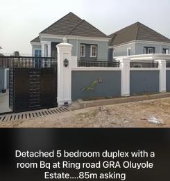 5 bedroom Detached Duplex House for sale Ring road GRA beside Adeoyo state hospital  Ring Rd Ibadan Oyo