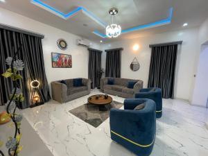 5 bedroom Detached Duplex House for shortlet Ibrahim Odofin Street, Agungi Agungi Lekki Lagos