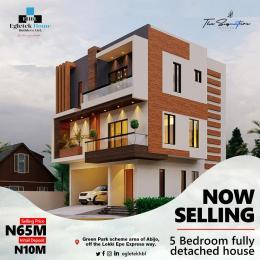 5 bedroom Semi Detached Duplex for sale Opposite Corona School Abijo Ajah Lagos