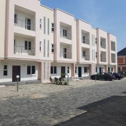 4 bedroom Terraced Duplex House for rent Behind world oil filling station, Brains and Hammers estate  Ilasan Lekki Lagos