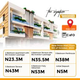 5 bedroom Terraced Duplex House for sale The signature  Abijo Ajah Lagos