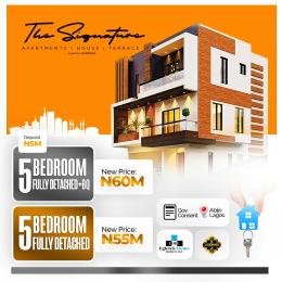 5 bedroom Detached Duplex House for sale signature homes Abijo Ajah Lagos