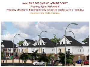 5 bedroom Detached Duplex House for sale idu industrial area close to turkish hospital Karmo Abuja