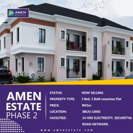 3 bedroom Flat / Apartment for sale Amen Estate 2 Eleko Ibeju-Lekki Lagos