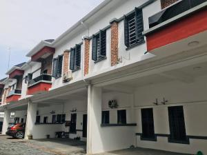 4 bedroom Terraced Duplex House for rent By 2nd toll gate chevron Lekki Lagos
