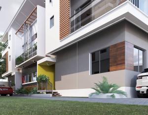 4 bedroom Terraced Duplex House for sale Oghetenome close off owokori crescent, alaka estate Alaka/Iponri Surulere Lagos