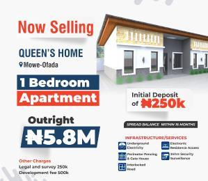1 bedroom mini flat  Flat / Apartment for sale Mowe ofada Berger Ojodu Lagos