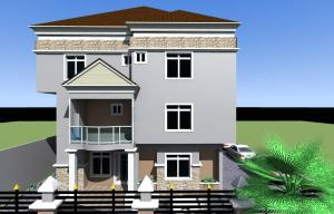 Detached Duplex for sale Lateef Onigemo Street, Aira Estate. Ifako-gbagada Gbagada Lagos