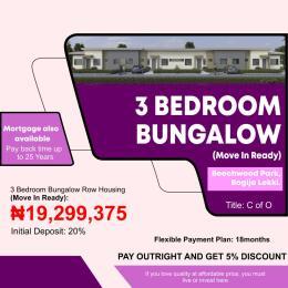 3 bedroom Detached Bungalow House for sale Bogije, Lekki Ajah, Lagos sate.  Badore Ajah Lagos