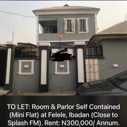 1 bedroom mini flat  Mini flat Flat / Apartment for rent Felele close to Splash FM Challenge Ibadan Oyo