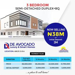 3 bedroom Semi Detached Duplex House for sale Abijo Bogije Sangotedo Lagos