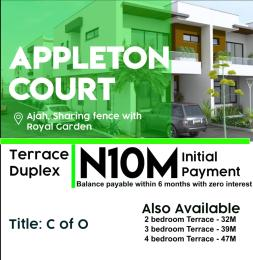 4 bedroom Terraced Duplex for sale Appleton Court, Just Beside Royal Garden Ajah Ajiwe Ajah Lagos