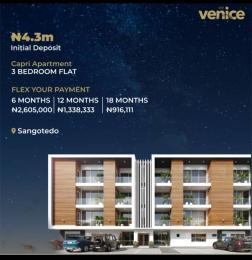 3 bedroom Flat / Apartment for sale Monastery road Sangotedo Lagos
