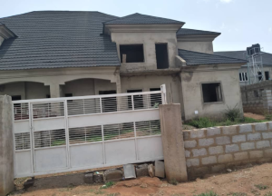 4 bedroom Semi Detached Duplex House for sale Lugbe airport road river park estate Lugbe Abuja