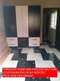 1 bedroom mini flat  Mini flat Flat / Apartment for rent sir Alex avenue Igbogbo Ikorodu Lagos