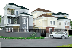 Detached Duplex House for sale Off college Road Aguda(Ogba) Ogba Lagos