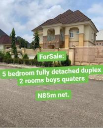 5 bedroom Detached Duplex House for sale Efab Metropolis, Gwarinpa.  Gwarinpa Abuja
