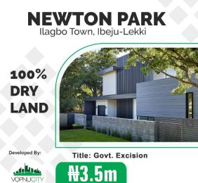 Residential Land for sale Ilagbo Ibeju-Lekki Lagos